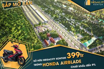 Dự án Mega City Kon Tum mở bán GĐ 1 chỉ 409tr/170m2 dự án hot nhất năm 2019