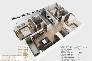 Gấp! Tôi muốn bán căn hộ TSG Lotus Sài Đồng 86m2, ưu đãi L/S 0%, CK 3%, tặng gói du lịch 100 triệu