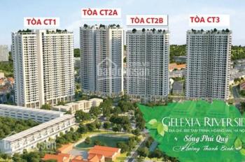 Chủ nhà Gelexia Riverside - 885 Tam Trinh, căn 15-16 CT1, DT: 76m2, 1TY450. Chị Liên: 0971.864.816