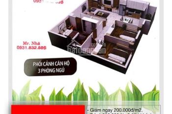 Căn hộ ngay cạnh Đầm Sen Tecco giá cực rẻ chỉ 1tỷ760tr bao thuế VAT liên hệ 0931 832 595