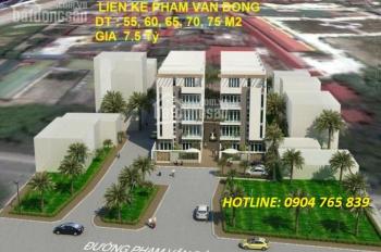 Bán nhà liền kề 689 Phạm Văn Đồng, đối diện Bộ Công An, LH: 0904 765 839