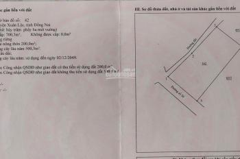 Lô 19mx37m đường bê tông xe hơi, Xuân Hưng, gần chợ ấp 3, giá 1.3 tỷ
