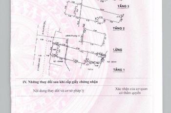 Bán Nhà Mặt Tiền Đường Thống Nhất, phường 15, Gò vấp, DT: 5 X 20. giá 13 tỷ TL