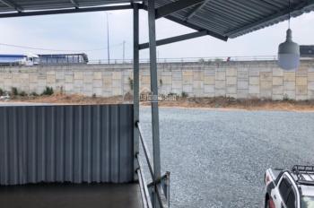 Cho thuê bãi đậu xe mặt đường Mỹ Phước Tân Vạn