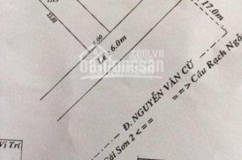 Bán nhà mặt tiền đường Nguyễn Văn Cừ nối dài, hướng đông nam, DT 139,9m2, thổ cư 100%, 12 tỷ