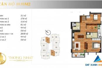 Chung cư Thống Nhất Complex, nhận ngay quà tặng lên đến 75 triệu, hỗ trợ LS 0%. LH: 0975904088