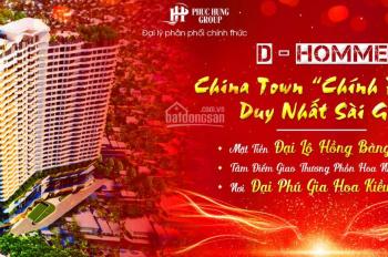 Căn hộ hạng sang với 5 tầng TTTM outside Hồng Bàng Quận 6, nhận booking đợt 1 độc quyền căn đẹp