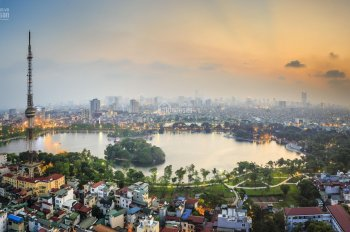 Bán nhà chung cư 55 Lê Đại Hành tầm nhìn trọn hồ, công viên Thống Nhất. LH: 0987346793