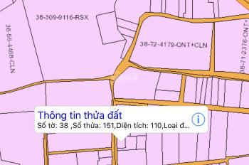 Chính chủ cần bán đất đẹp full thổ xã Long Tân, Nhơn Trạch, 110m2, 1,25 tỷ, giá sập sàn, 0979131415