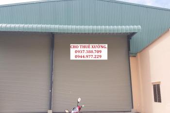 Cho thuê nhà xưởng nằm phường Hiệp Thành, Quận 12, DT 600m2 giá 25 triệu/tháng. LH 0908 561 228