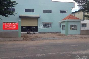 Cho thuê nhà xưởng đường Phan Văn Hớn, Quận 12, DT: 3700m2, giá 120tr/tháng. LH: 0908.561.228