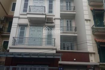 Cho thuê nhà liền kề Nguyễn Thị Thập, Trung Hòa, Cầu Giấy. DT 100m2, 5 tầng, MT 7m, giá 48tr/th
