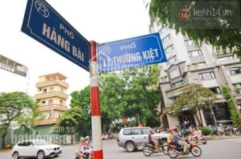 Cho thuê nhà mặt phố Hàng Bài, mặt tiền 10m, giá 60 triệu/tháng