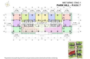 Bán căn shophouse vị trí trung tâm Park Hill, 200m2, giá 14.8 tỷ bao phí sang tên. LH 0904691108