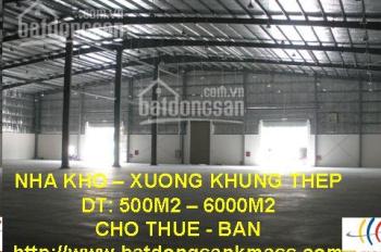 Cho thuê kho xưởng, khu công nghiệp Quang Minh 1000m2 - 10000m2