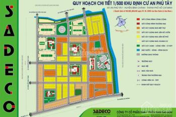 Đất thổ cư SHR chính chủ MT Bình Chánh, giá rẻ 12 triệu/m2, An Phú Tây, Bình Chánh. LH 0912600490