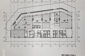 Bán sàn thương mại vip tầng 1 chung cư 2 mặt tiền công viên Cầu Giấy - LH: 0981792266