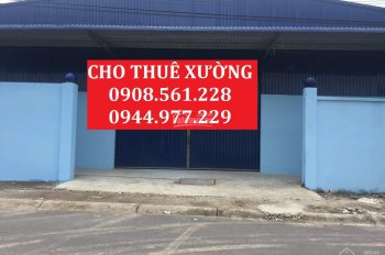 Nhà xưởng cho thuê hoặc bán quận 12, DT: 300m2, 500m2, 800m2, 1000m2, 2000m2... LH: 0908.561.228