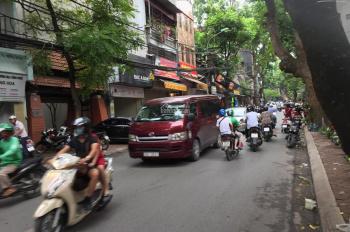 Bán nhà đất mặt phố Trần Bình, Mai Dịch, Cầu Giấy kinh doanh sầm uất