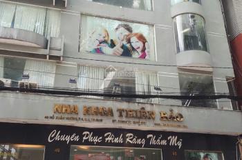 Bán nhà Mạc Đĩnh Chi Nguyễn Văn Thủ Q1, gần hai Bà Trưng 26 tỷ cho thuê 100tr KC 6T, 0918823006