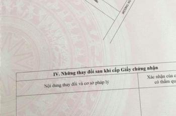Chính chủ bán đất hẻm 167/10 Lưu Chí Hiếu hướng tây tứ trạch