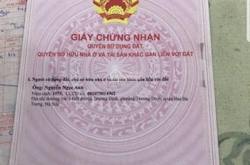 Bán nhà MP Trần Khát Chân vỉa hè cực rộng (8m), DT 65m2, MT 4.3m, 13.6 tỷ