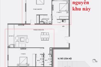Thay đổi thiết kế căn hộ từ 3PN thành 4PN cho căn 150m, tối ưu hóa diện tích tại Stellar Garden