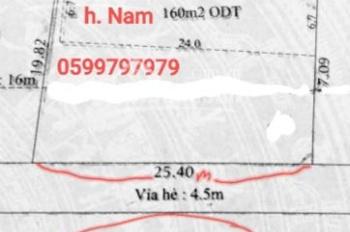 Cho thuê nhà mặt tiền Nguyễn Du, An Phú, Thuận An. DT 462m2, mặt tiền ngang 25,4m, hướng Nam