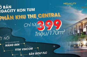 Bán đất mặt đường Hùng Vương, Kon Tum, giá 409tr/nền đủ 3 yếu tố an cư, kinh doanh, đầu tư