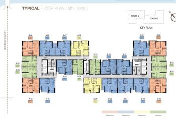 Cần bán gấp căn hộ view sông 1PN A09 tại dự án Aurora Residence, tầng cao 50m2 - 1,530 tỷ