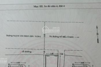 Nhà góc 2 MT (4x12.8m) Huỳnh Văn Bánh, 3 lầu, ST. Cho thuê 45tr/tháng