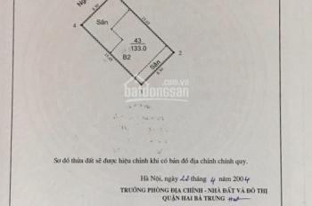 Cần bán nhà biệt thự liền kề (DTXD 135m2 x 4 tầng vẫn còn mới) phố Trương Định, ô tô đỗ cửa
