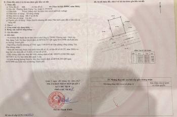 Bán đất thổ cư mặt tiền đường Lê Hữu Kiều, diện tích 391m2, giá 72.5 tr/m2. LH chính chủ 0903826125