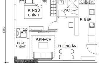 Căn hộ Hà Đô, 1PN/53m2, lầu thấp nhất, liên hệ 0901116468