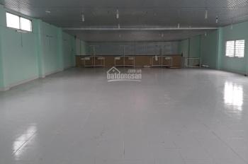 Cho thuê xưởng may diện tích 700m2, giá 30tr/tháng ở gần chợ Hiệp Thành, Quận 12
