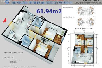 Độ ta độ CT1 Yên Nghĩa, thật dễ dàng để có ngay căn hộ tại CT1 Yên Nghĩa, Hà Đông chỉ với 700tr