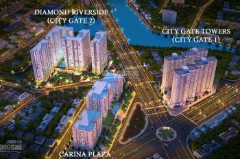 Diamond Riverside - City Gate 2, 72.25m2 view Võ Văn Kiệt, giá 1.770 tỷ. LH: 0901 338 328