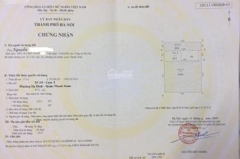 Cần bán nhà quận Thanh Xuân. Diện tích 63m2 x 3.5 tầng, MT 4.2m, hướng TTT, giá 4.5 tỷ (có TL)