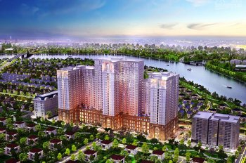 Cần bán gấp căn hộ 2PN, hướng Nam, tầng 16, 76m2 dự án Sài Gòn Mia, 3,35 tỷ, 0906667473