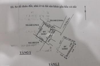 Bán nhà gấp 1 trệt, 2 lầu Tôn Đản, Q4, DT 15m2, giá 1.25 tỷ thu về. LH 0908296370