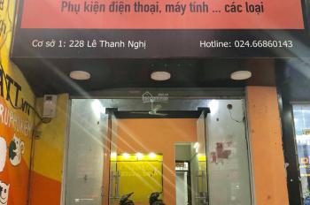 Cho thuê cửa hàng mặt phố 228 Lê Thanh Nghị, Hà Nội