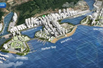 Bán shophouse mặt biển dự án Harbor Bay Hạ Long - lô HB 347, DT: 150m2, giá đầu tư có lời nhất