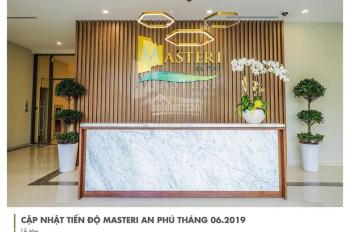 Cần cho thuê gấp CH Masteri An Phú, Q2, 70m2, 2pn, view thoáng, nhà đẹp, giá rẻ chỉ 14tr/th