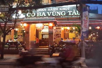 Bán nhà mặt tiền Cao Thắng - Bánh khọt Cô Ba Vũng Tàu, P4, Q3, DT: 11x22m, giá 120 tỷ