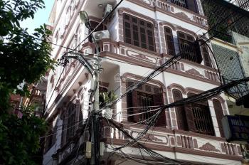 Bán nhà đường Kim Đồng DT: 52m2, MT: 5,6m, 5 tầng nhà khung, căn góc 2 mặt ngõ - bán 7,8 tỷ