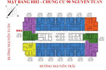 Tôi cần bán nhanh CC 90 Nguyễn Tuân, CH 1803, 71m2, ban công ĐN, giá bán 29 tr/m2. LH: 0966331603