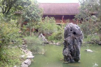 Bán khuôn viên hoàn thiện cực đẹp tại Lương Sơn, Hoà Bình, DT 4300m2