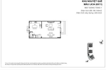 Cần tiền bán gấp nhà liền kề 96m2 hướng Đông Nam rẻ nhất Vinhomes The Harmony. LH 0936298166
