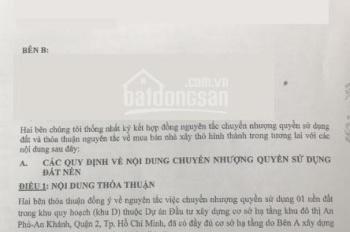 Bán lô đất khu D, An Phú An Khánh, 108m2, Q. 2