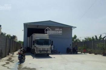 Cho thuê xưởng mới làm kho xong DT: 570m2, giá 25tr/tháng, ở Tân Thới Hiệp, Quận 12